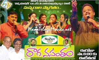 SP Balasubramanyam's Raga Vasantham Concert