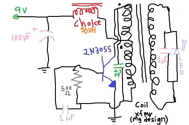 THORPNICS: Simple metal detector.