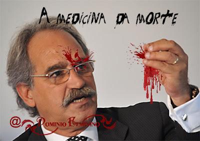 Montagem adaptada ao tema do aborto, assassinato em massa.