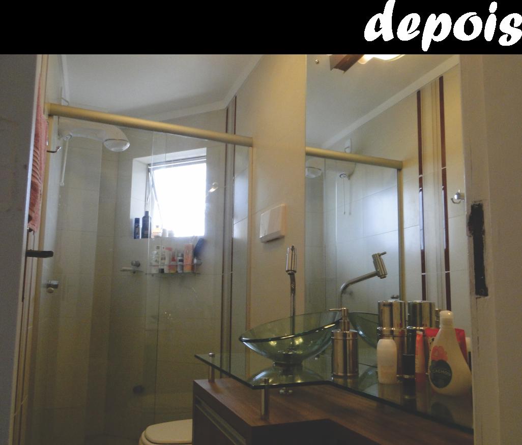 dar leveza e amplitude ao banheiro modificamos a saída do esgoto  #867045 1026 876
