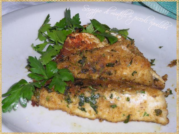 sciroppo di mirtilli e piccoli equilibri: filetti di gallinella al ... - Come Cucinare Filetti Di Gallinella