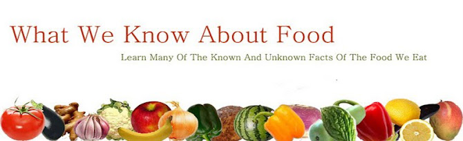 What We Know About Food