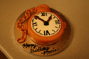 Pocket Watch Cake