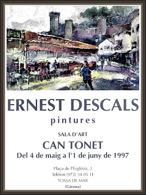 TOSSA DE MAR-PINTURA-PINTURES-EXPOSICION-ERNEST DESCALS