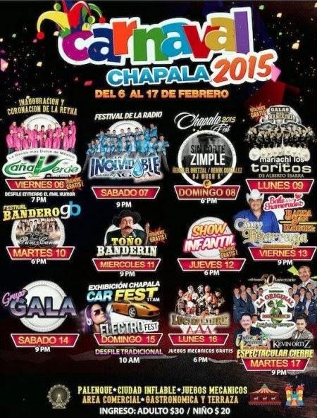 to 10 mejores carnavales de méxico 2015