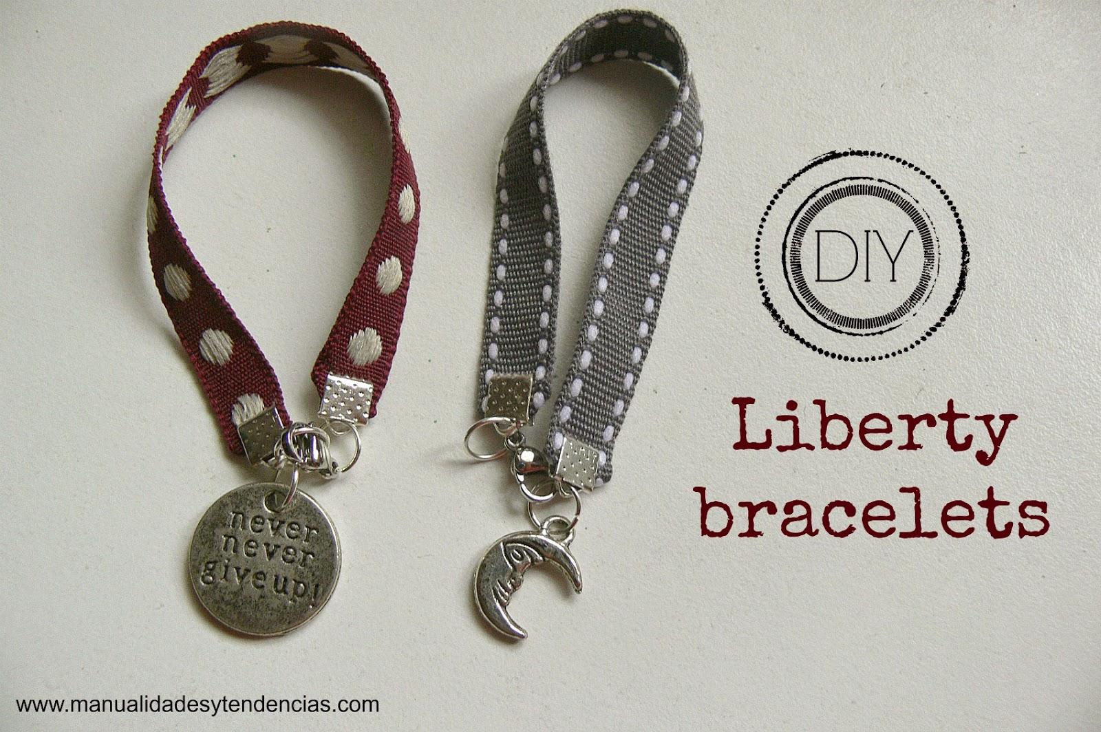 liberty bracelet tutorial