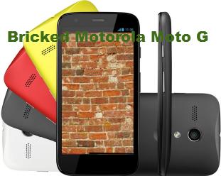 Fix Unbricked Motorola Moto G