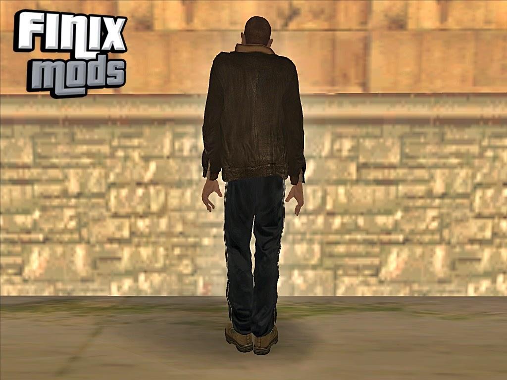 Skin do Niko Bellic do GTA IV