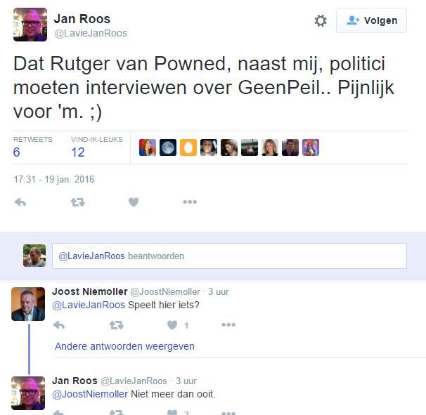 Jan Roos (@LaVieJanRoos) over @Powned: 'Daar wil hélemaal niemand meer werken!'