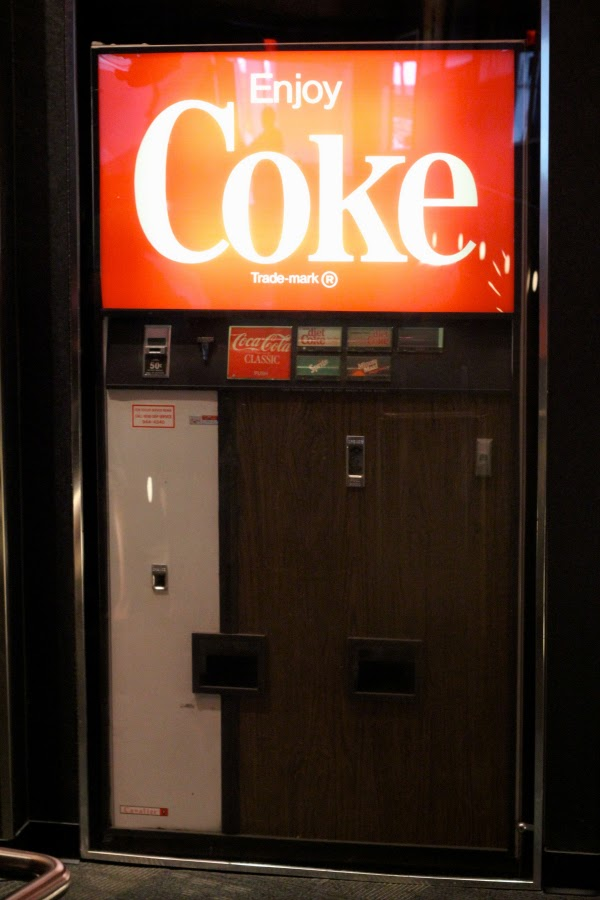 vintage coke machine