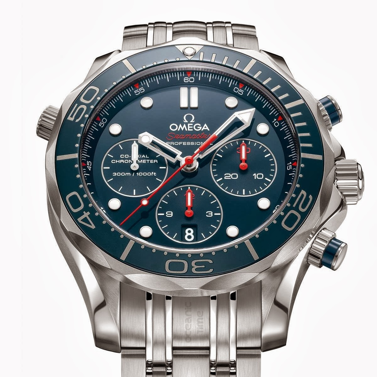 OceanicTime: OMEGA Seamaster DIVER 300M Co-Axial CHRONO