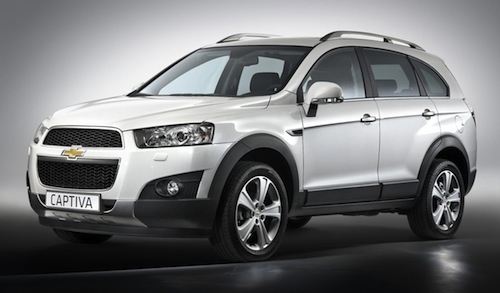 novo Chevrolet Captiva 2014 dianteira