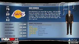 nba 2k14 screen 4 NBA 2K14 (PS4/XO)   MyGm Screenshots