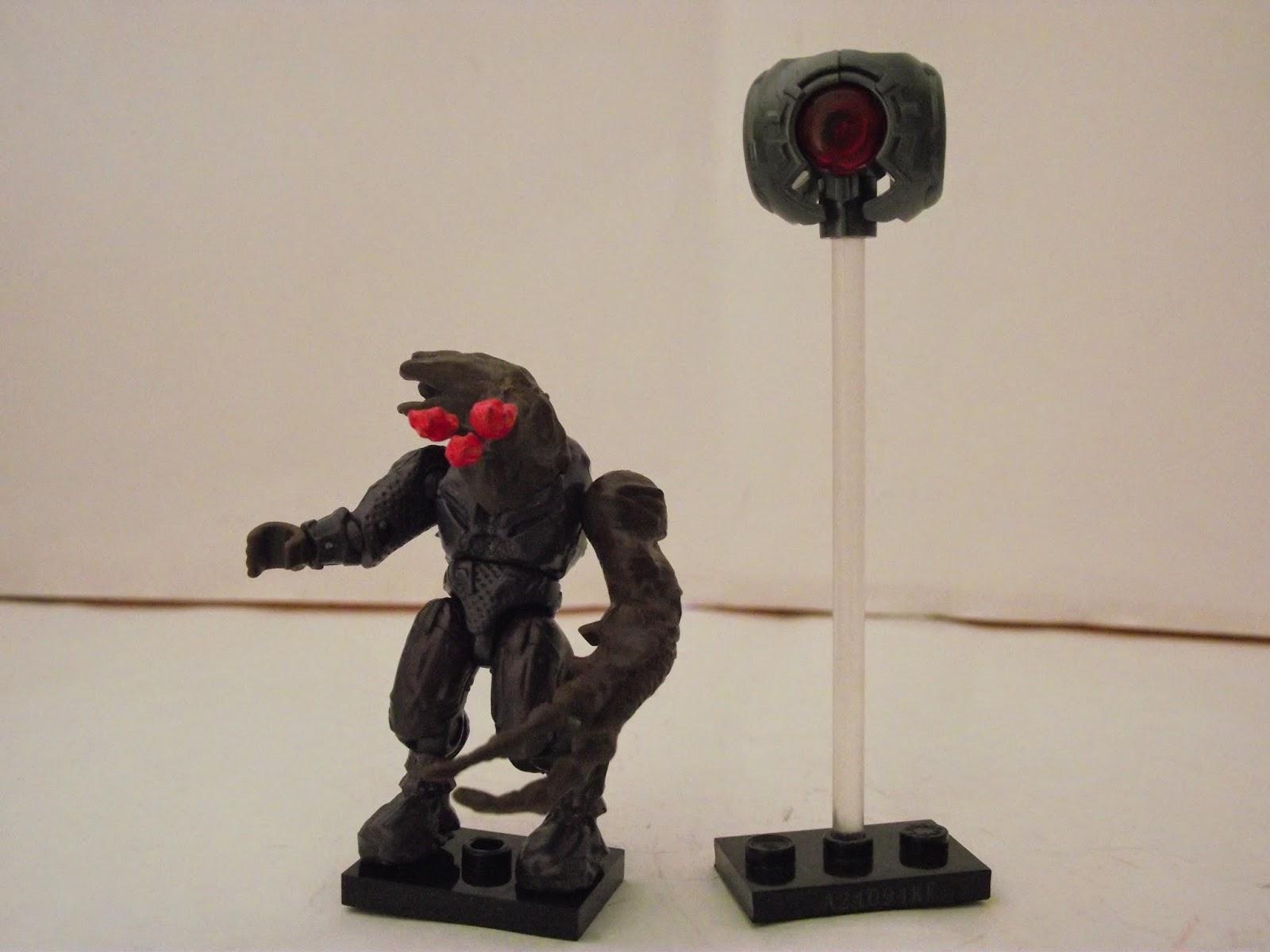 Halo Mega Bloks Series 9 Covenant Brute Stalker Common
