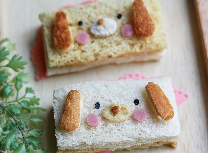 ideas creativas para decorar la comida infantil