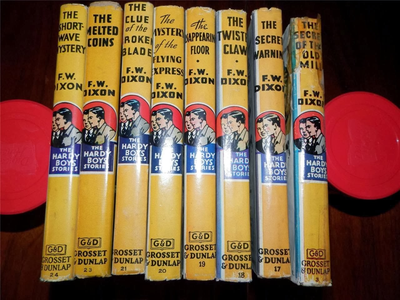 Lot of 13 books: HARDY BOYS adventure Series by FRANKLIN Dixon Hardcovers
