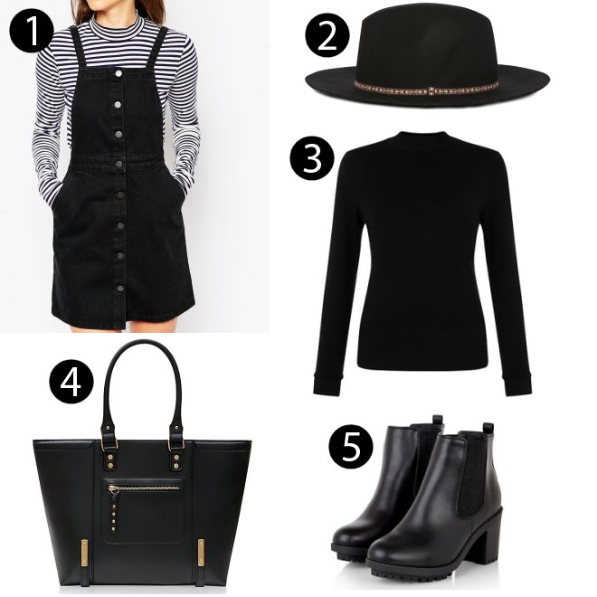 Bloggers Fashion Week All Black Outfit