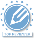 Top Reviewer NetGalley Badge