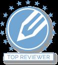 Top Reviewer NetGalley Badge