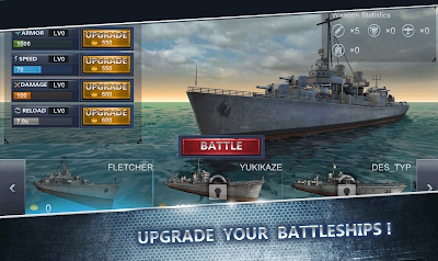 Ultimate sea Battle 3d apk mod terbaru