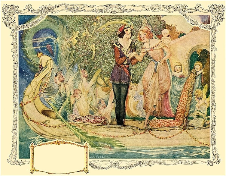 Willy Pogany 'Swan Boat'