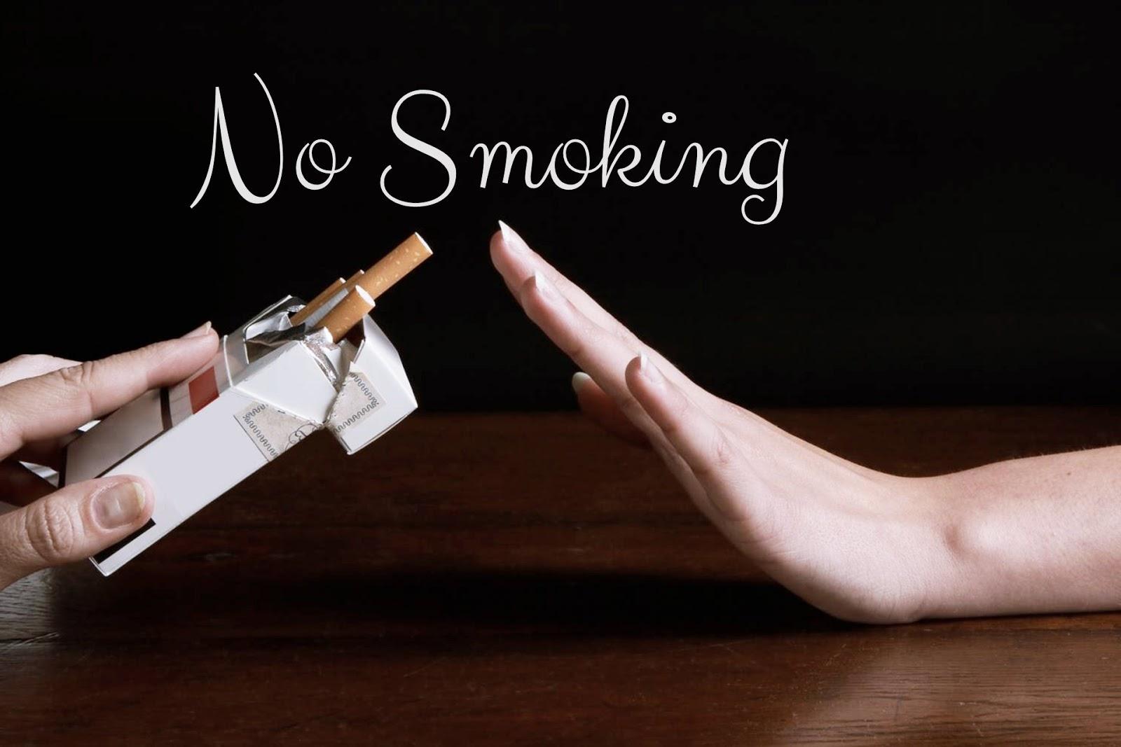 Quem deixou de fumar t