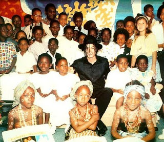 Michael in Ivory Coast 1992