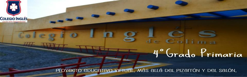 Colegio Inglés. 4°