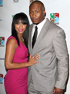 Brandon Marshall and his wife Michi Nogami