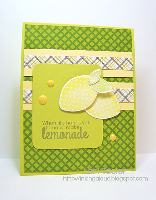 When Life Hands You Lemons card-designed by Lori Tecler/Inking Aloud-stamps and dies from Reverse Confetti