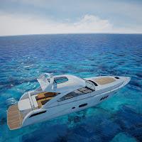 3d searay yacht