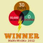 NaNo Winner 2012