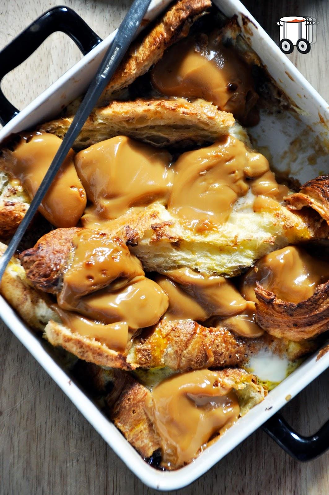 Szybko Tanio Smacznie - Zapiekanka z croissantów z karmelem