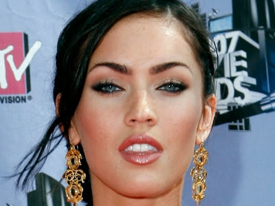 make up megan fox
