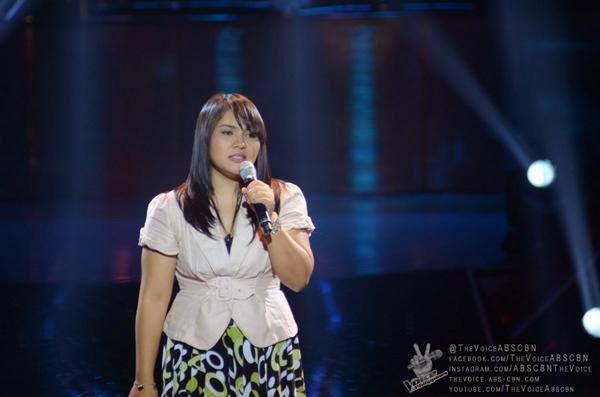 Dang del Rosario sings 'Araw Gabi' on 'The Voice of the Philippines' Season 2
