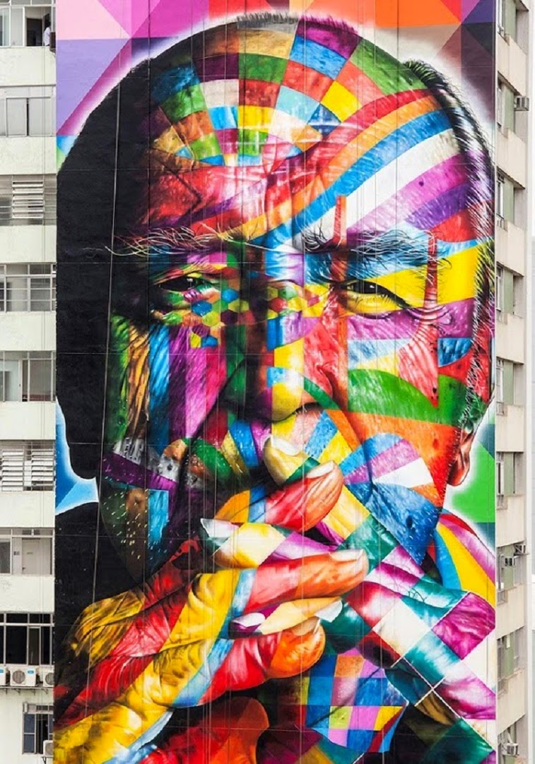 STREET ART by Eduardo Kobra