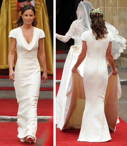 Pippa Middleton royal wedding bridesmaid butt