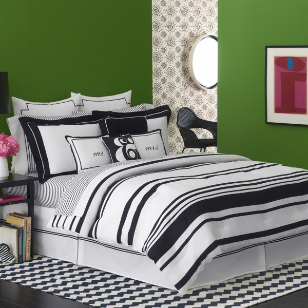 Pink pineapple kate spade bedding for Bed bath and beyond kate spade