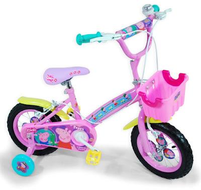 TOYS : JUGUETES - PEPPA PIG - Bicicleta infantil  Saica | Serie de Television | Comprar en Amazon España