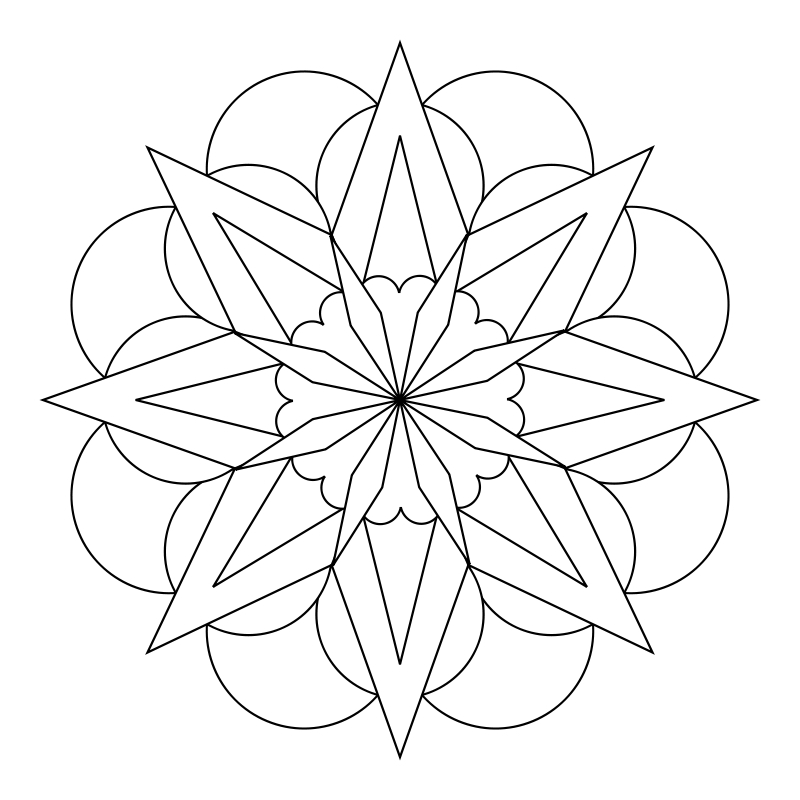 What Tangled Webs!: My Mandala Templates