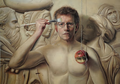 David M. Bowers. The Secret (self portrait)