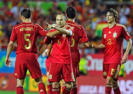 Video Cuplikan Gol Spanyol VS Bolivia 2-0