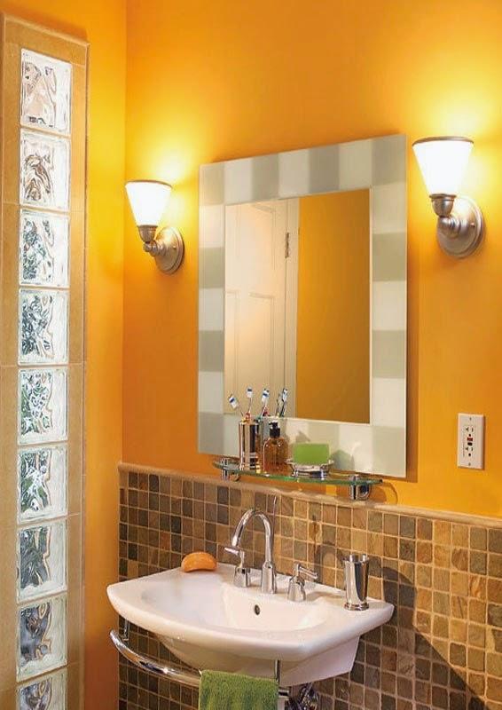 cermin kamar mandi, westafle kamar mandi, unik, minimalis