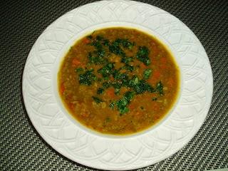 Moroccan Style Split Pea Soup