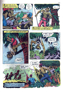 Tarzan's Jungle Annual v1 #3 - Russ Manning dell silver age comic book page art
