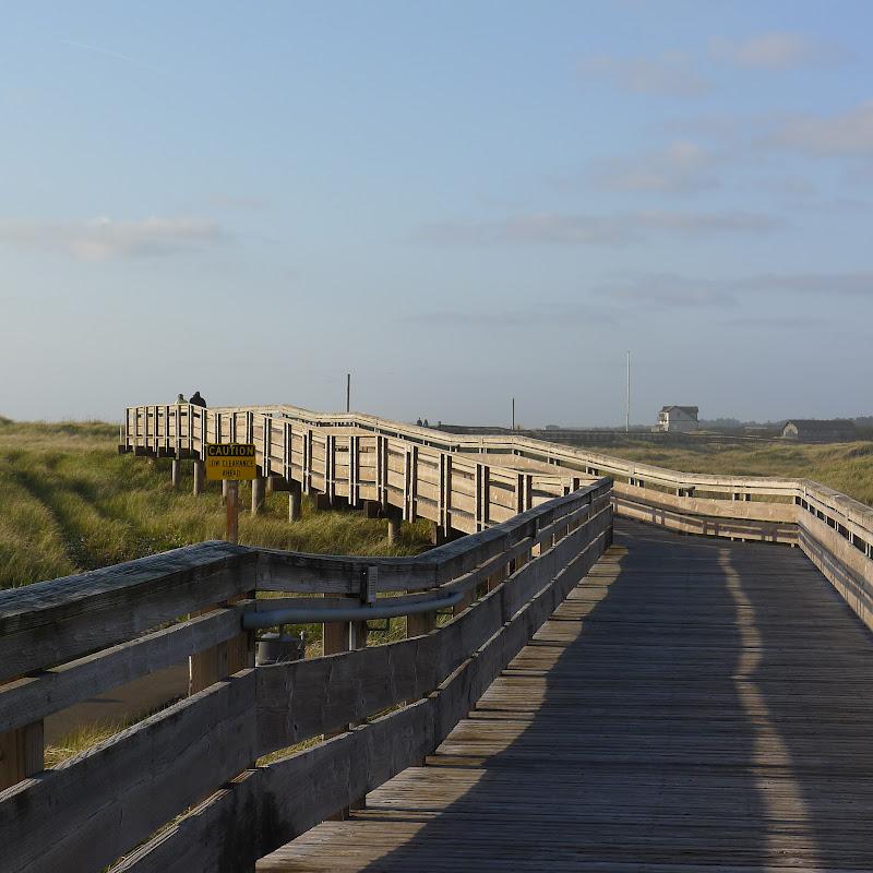 Boardwalk At Long Beach Wa Photo By Candace Brown