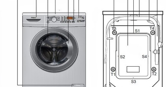 how to clean front loading washing machine drum