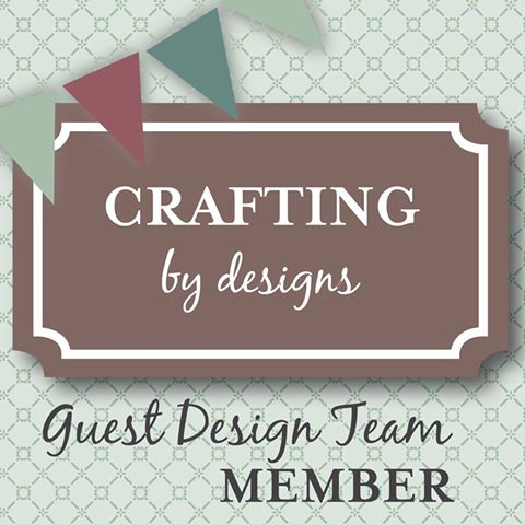 I'm a Guest Designer for Crafting By Designs