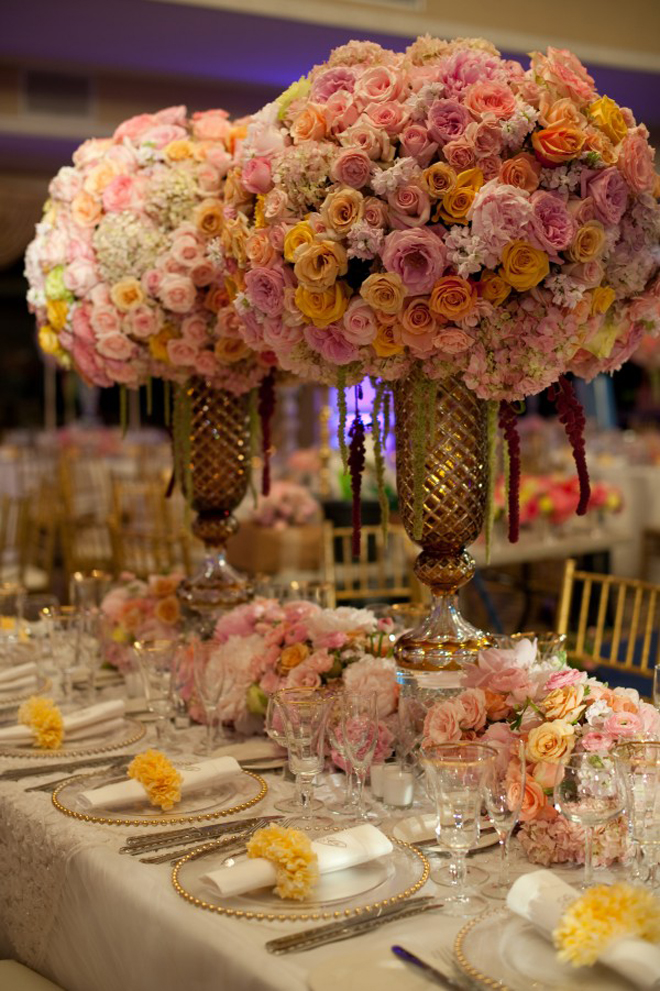 25 Stunning Wedding Centerpieces Part 10 Belle The