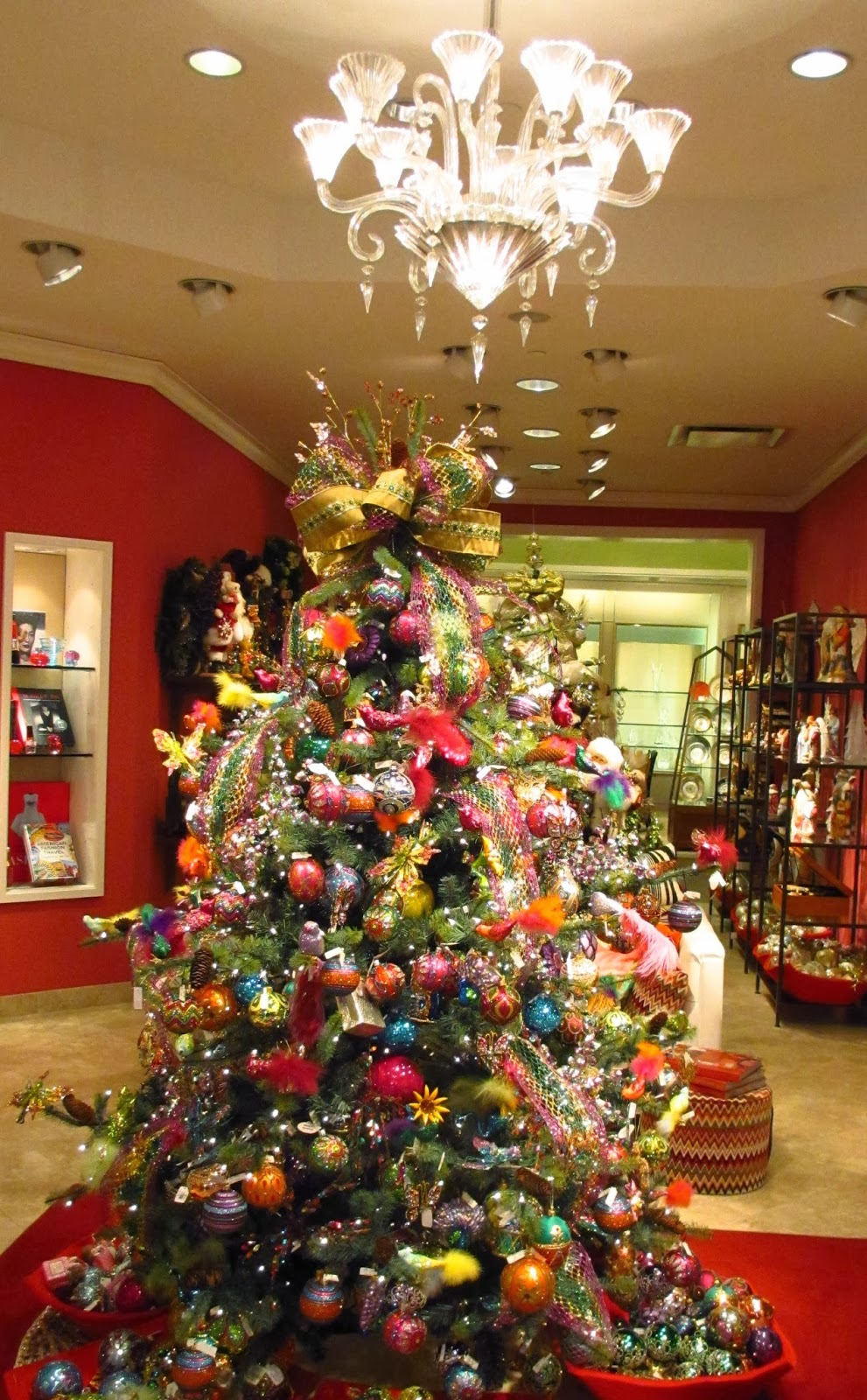 christmas at neiman marcus i noticed that there is a lot of christmas decorations in the
